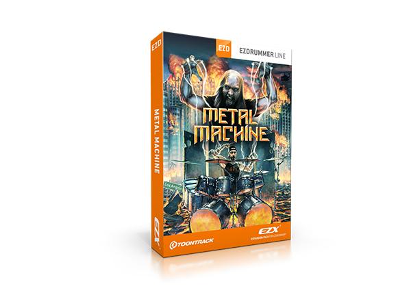 TOONTRACK ( トーントラック ) EZX METAL MACHINE【EZXMM】