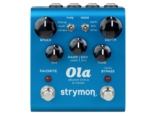 誕生日 お祝い オーラ 公式ストア コーラス STRYMON Ola ストライモン Chorus