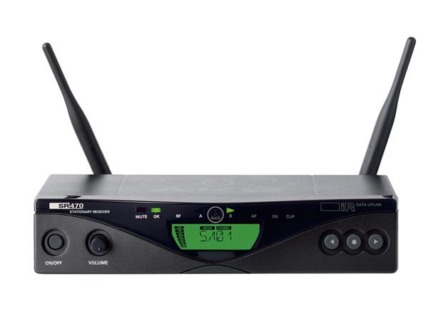 AKG ( エーケージー ) SR470 ◆ ワイヤレス受信機 WMS470シリーズ [ ワイヤレスシステム 関連商品 ][ 送料無料 ]