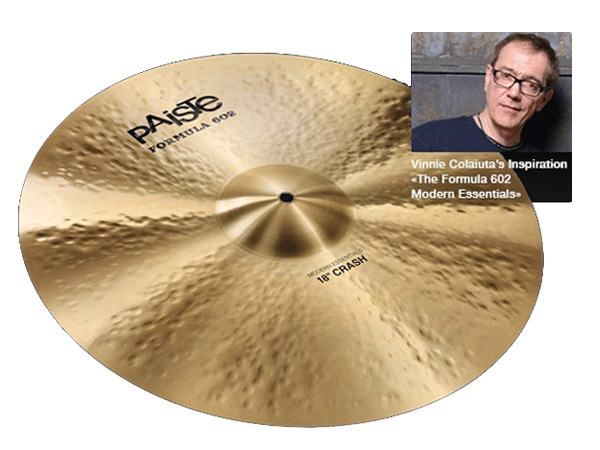 Paiste ( パイステ ) FORMULA 602 MODREN ESSENTIALS CRASH 20