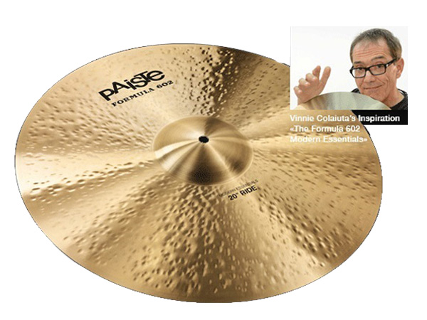 Paiste ( パイステ ) FORMULA 602 MODREN ESSENTIALS RIDE 22