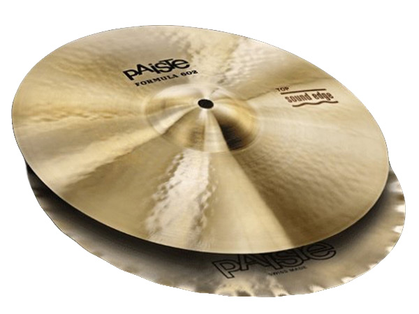 Paiste ( パイステ ) FORMULA 602 CLASSIC SOUNDS SOUND EDGE HI-HAT 14