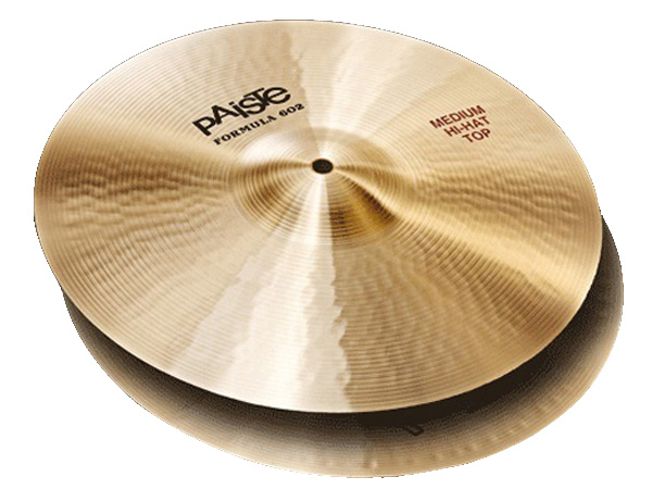Paiste ( パイステ ) FORMULA 602 CLASSIC SOUNDS MEDIUM HI-HAT 15