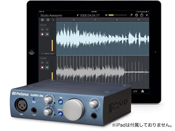 PreSonus ( プリソーナス ) AudioBox iOne【取り寄せ商品/納期数ヶ月 】 ◆【オーディオインターフェイス】【DAW】【DTM】【iOS】