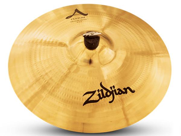 Zildjian ( ジルジャン ) A Custom Medium Crash 16 【キーホルダープレゼント/ID:119108 】