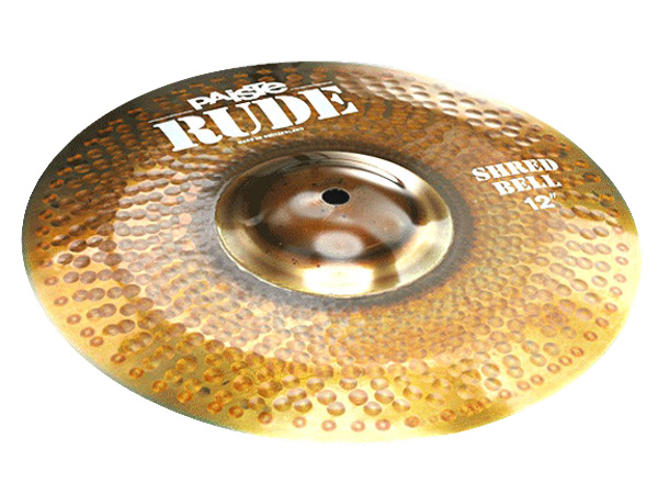 Paiste ( パイステ ) RUDE SHRED BELL 12