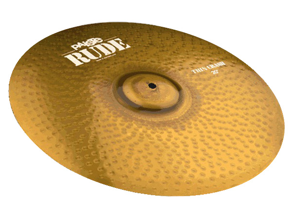 Paiste ( パイステ ) RUDE THIN CRASH 18