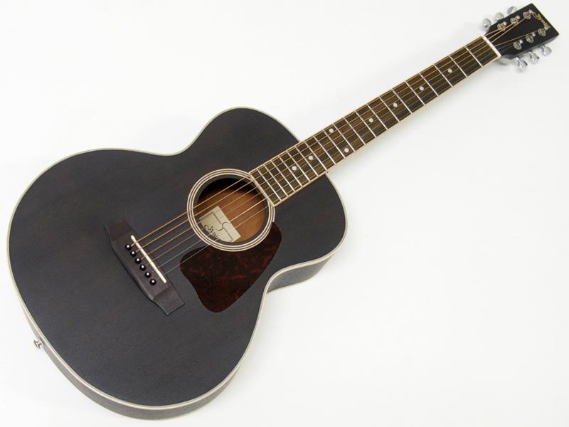 S.Yairi ( エスヤイリ ) YM-03(BK)【コンパクト アコースティックギター ミニアコギ 】