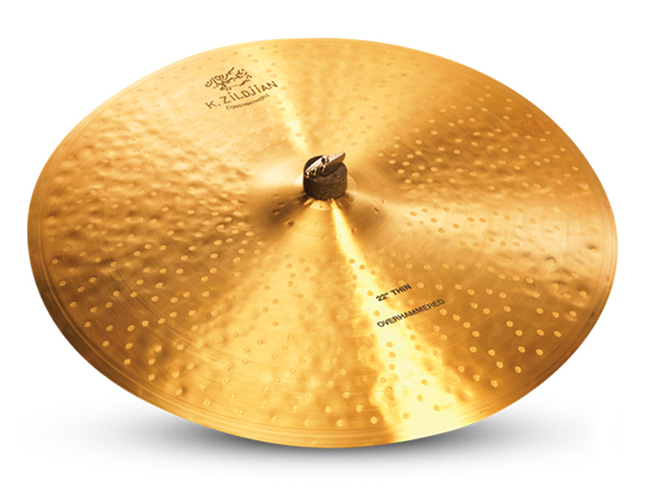 Zildjian ( ジルジャン ) K CONSTANTINOPLE Thin Ride Overhammered 22