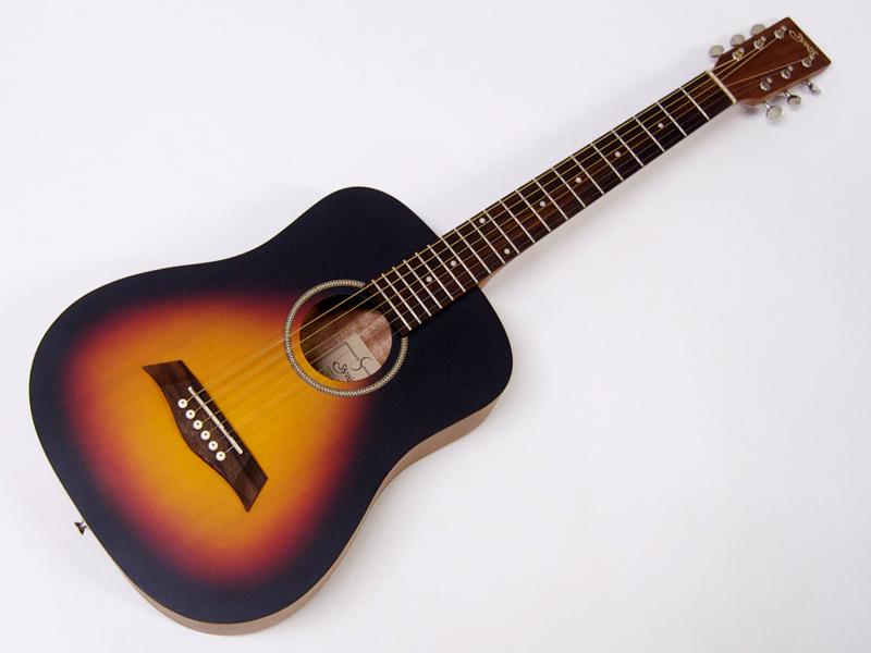 S.Yairi ( エスヤイリ ) YM-02(VS)【 コンパクト アコースティックギター ミニアコギ 】