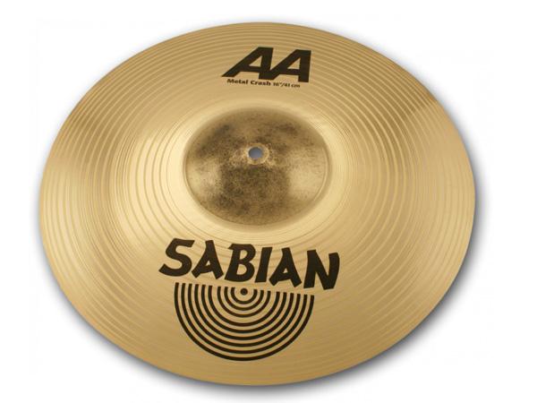 SABIAN ( セイビアン ) AA-16MECS-B METAL CRASH ☆ メタルクラッシュ 16インチ 【受注オーダー品/注文後3~6ヶ月】