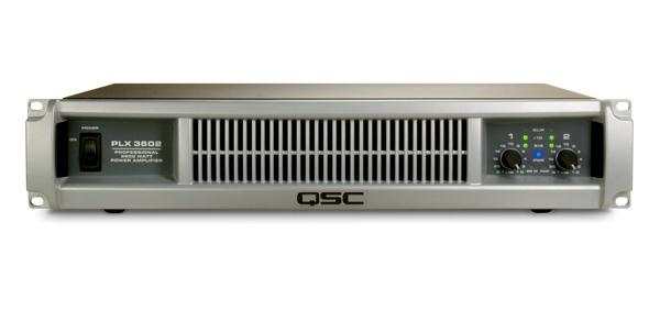 QSC ( キューエスシー ) PLX3602 ◆ パワーアンプ ・775W+775W 8Ω [ PLX series ]
