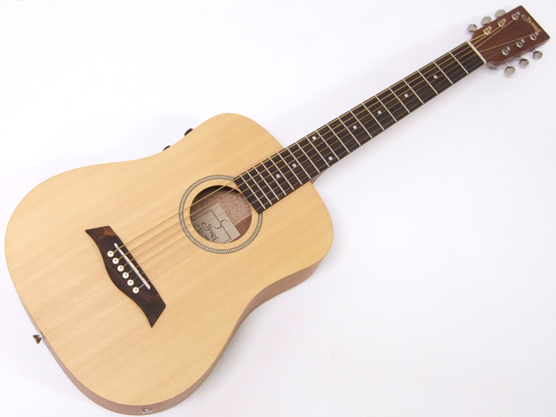 S.Yairi ( エスヤイリ ) YM-02E(NTL) 【コンパクト アコースティックギター ミニアコギ 】 ピックアップ搭載