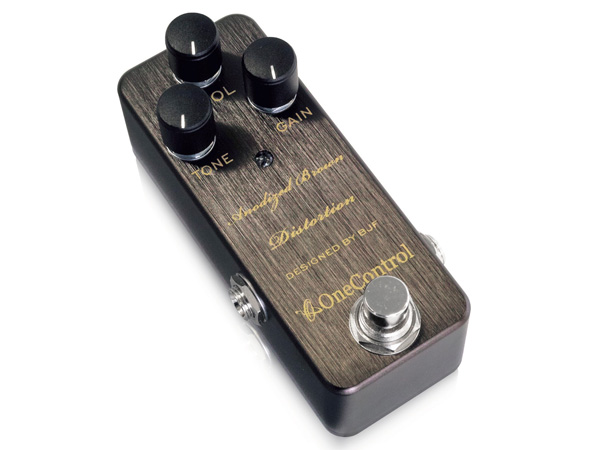 One Control Anodized Brown Distortion ◆ ワンコントロール ディストーション ◆ コンパクトエフェクター [ 送料無料 ]