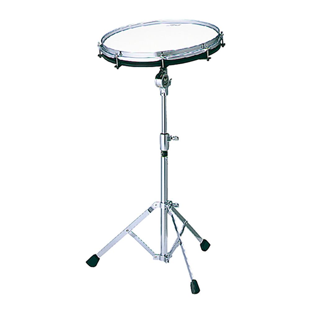 スネア感覚で練習できる14インチの練習パッドで、リムショットなどリアルなタッチが楽しめます。 Pearl ( パール ) SDN-14N 【14インチスタンド付き ドラム トレーニングパッド】 ドラム スネア 練習パッド 吹奏楽 基礎練習 ドラム練習 軽音楽部