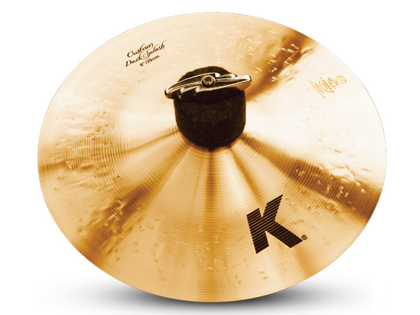 """Zildjian ( ジルジャン ) K CUSTOM Dark Splash 8"""" ☆ ダークスプラッシュ【K CUSTOM Dark Splash 8""""】 ☆ Kカスタムダークスプラッシュ"""