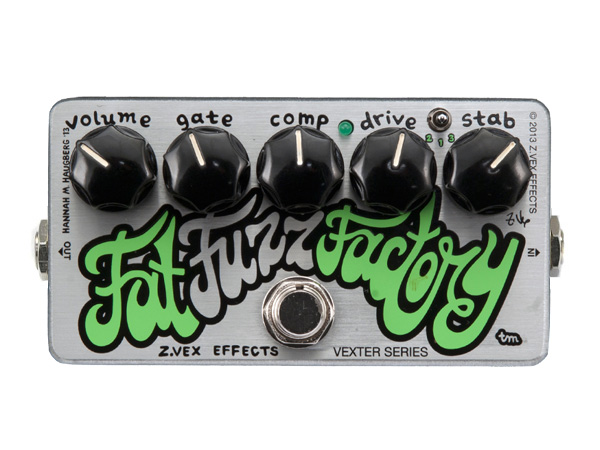 Z.VEX Fat Fuzz Factry [ Vexter Series ] ◆ コンパクトエフェクター FUZZ for エレキギター・ベース