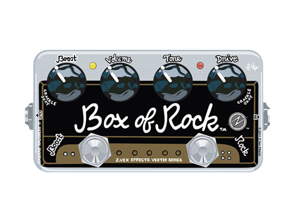Z.VEX Box of Rock [ Vexter Series ]◆ コンパクトエフェクター ディストーション for エレキギター・ベース