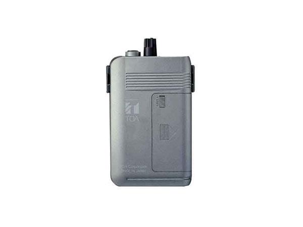 TOA ( ティーオーエー ) WT-1101-C12C14 ◆ ワイヤレスガイド携帯型受信機 2チャンネル切換型 [ ワイヤレスシステム 関連商品 ]