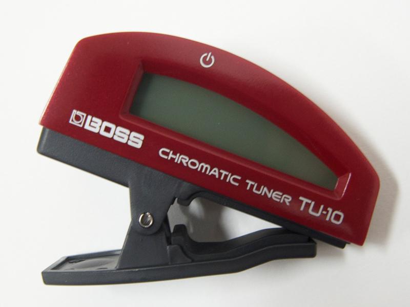 ボスならではの精度 宅送 使いやすさ 人気ブレゼント! 耐久性を備えたクリップチューナー BOSS ボス RD クリップチューナー クロマチック TU-10 チューナー
