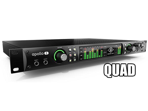 Universal Audio ( ユニバーサル オーディオ ) APOLLO 8 QUAD ◆【送料無料】【DSP搭載 オーディオインターフェイス】【DTM】【smtb-k]