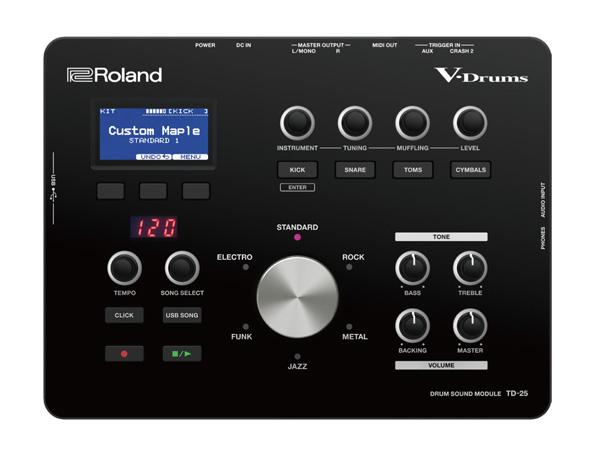 Roland ( ローランド ) TD-25 DRUM SOUND MODULE【TD-25】