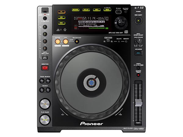 Pioneer ( パイオニア ) CDJ-850-K【ブラック】【取り寄せ商品/納期数ヶ月以上 】 ◆【DJ】【CDJ】