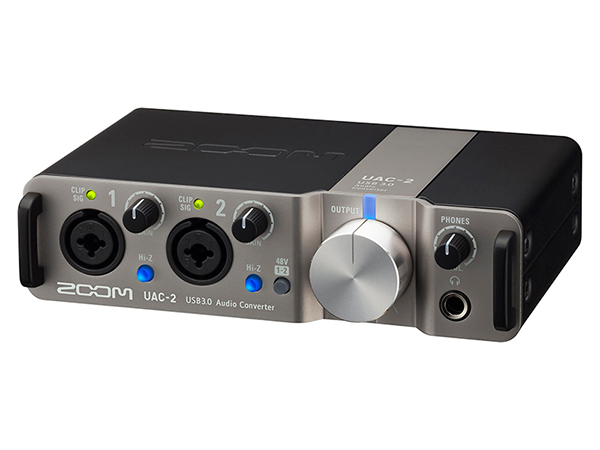 ZOOM ( ズーム ) UAC-2 ◆【USB3.0】【 24bit 192kHz】【ハイレゾ】【オーディオインターフェイス】【DTM】【DAW】