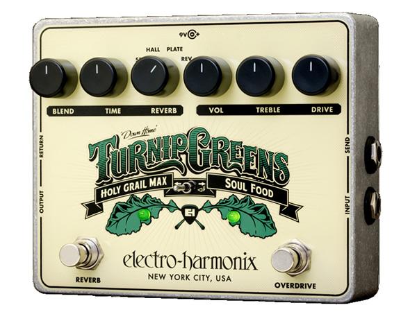 Electro Harmonix ( エレクトロハーモニクス ) Turnip Greens ◆ コンパクトエフェクター Multi-effect