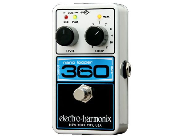 Electro Harmonix ( エレクトロハーモニクス ) Nano Looper 360 ◆ コンパクトエフェクター Looper
