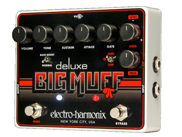 Electro Harmonix ( エレクトロハーモニクス ) Deluxe Big Muff Pi  ◆ コンパクトエフェクター The icon reimagined