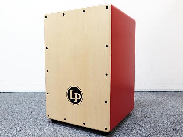 LP ( エルピー ) LP1442 RD 【カホン パーカッション FESTIVO CAJON 】 少しちいさめのカホン レッド