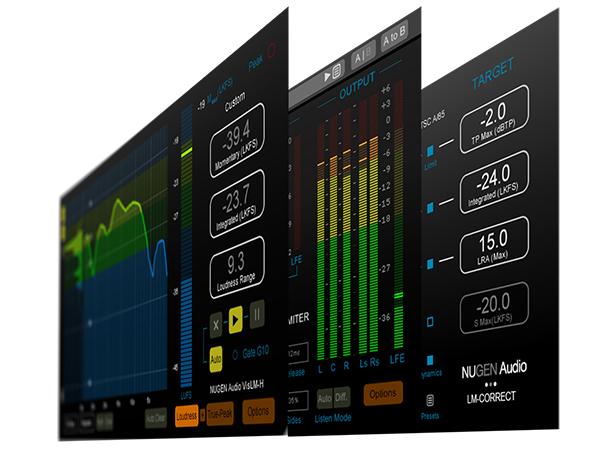 NuGen Audio ( ニュージェン オーディオ ) Loudness Toolkit 2【NALOUDTK2】 ◆【正規代理店取扱い】【ARIB TR-B32対応】【DAW】【DTM】