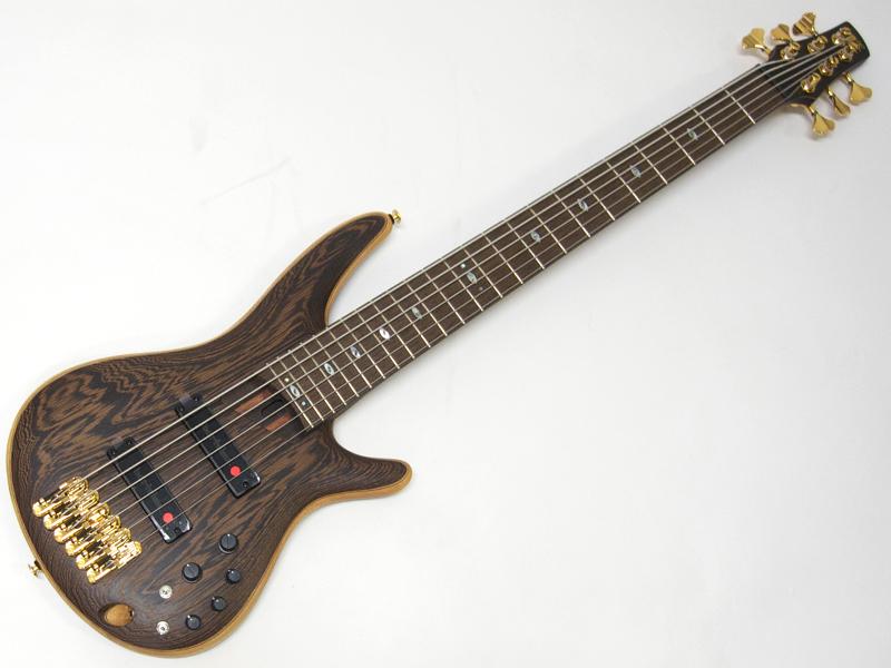 Ibanez ( アイバニーズ ) SR5006【Prestige 日本製 6弦ベース WO 】 バルトリーニ ピックアップ搭載 6弦ベース ハードケース付属