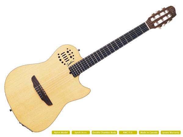 Godin ( ゴダン ) MULTIAC NYLON SA ☆ ROLANDギターシンセ対応【MULTIAC NYLON SA】