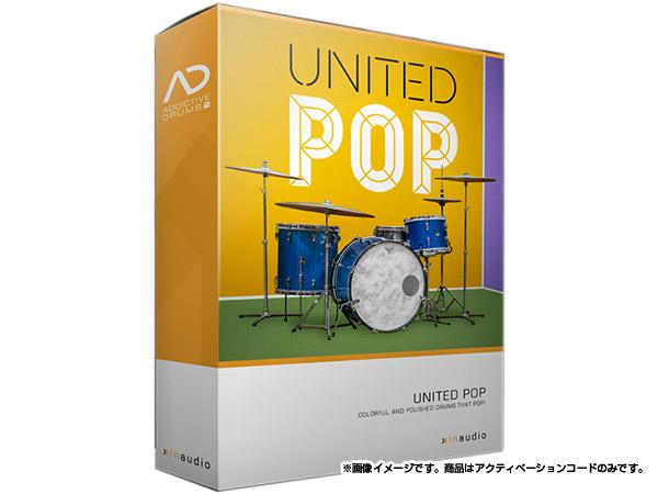 xlnaudio ( エクスエルエヌ オーディオ )  Addictive Drums 2:  UNITED POP ◆【ADpak】【ダウンロードコード商品】 ◆[正規代理店取扱い][送料無料][ドラム音源][AD2][ADpak]