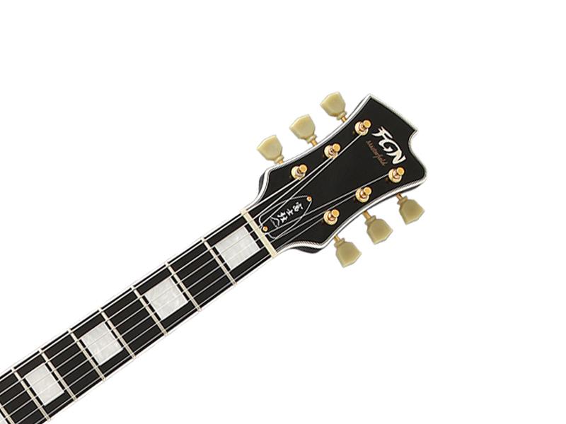 FgN(フジゲン)MSA-HP-C【日本製セミアコギターBlack】