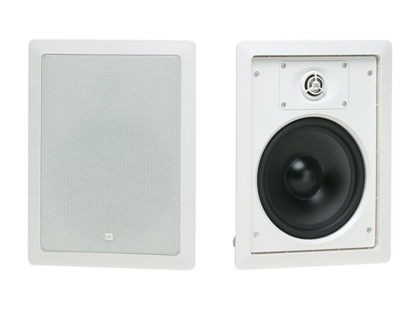JBL ( ジェイビーエル ) Control 128WT (ホワイト)(1ペア) ◆ ハイインピーダンス 壁埋込用2-Way フルレンジ・スピーカー [Control Contractor In-Wall SpeakersSeries ][送料無料]