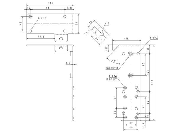 for JBL Control 1PRO 超特価SALE開催 ジェイビーエル CTLB-1 ブラック Series 1PRO用 送料無料でお届けします Option 壁 天井取付金具 1ペア