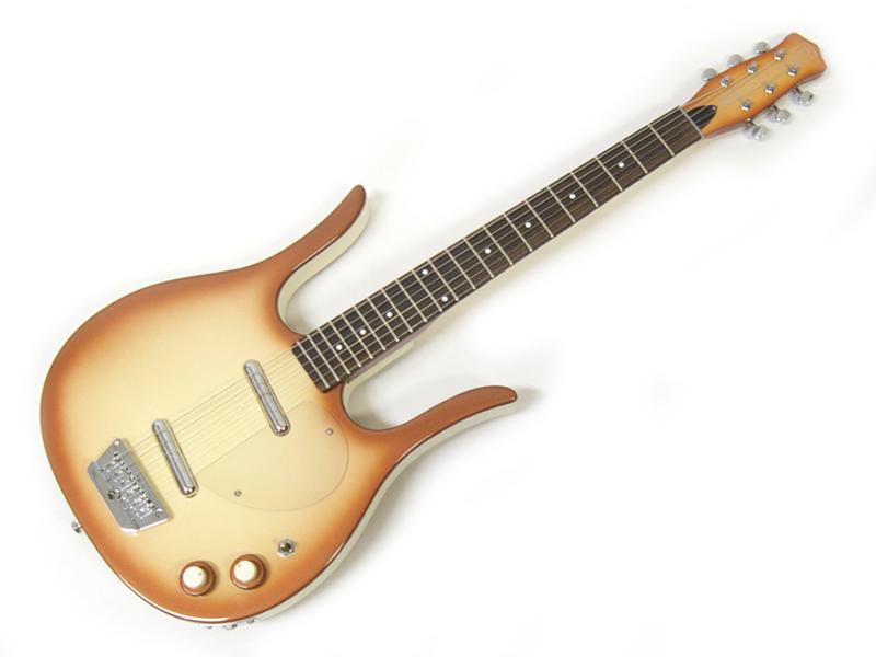 Danelectro ( ダンエレクトロ ) Longhorn Guitar (Copper) 【ロングホーン ギター ダンエレ 】【特製コースター プレゼント 】