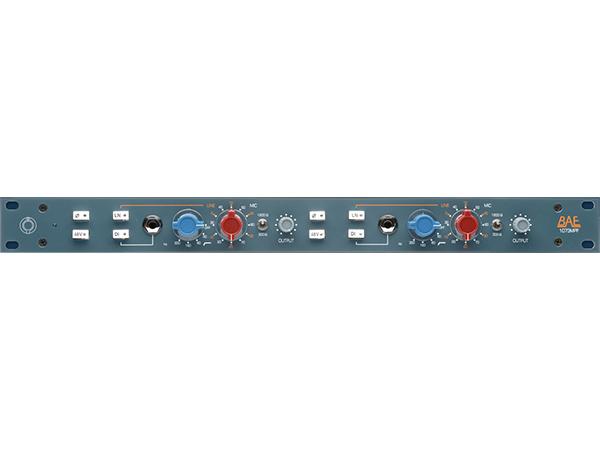 BAE Audio ( ビーエーイーオーディオ ) 1073MPF 2ch ◆【マイクプリアンプ】【取り寄せ商品/受注後納期確認 120V仕様 】 ◆【送料無料】【DAW】【DTM】