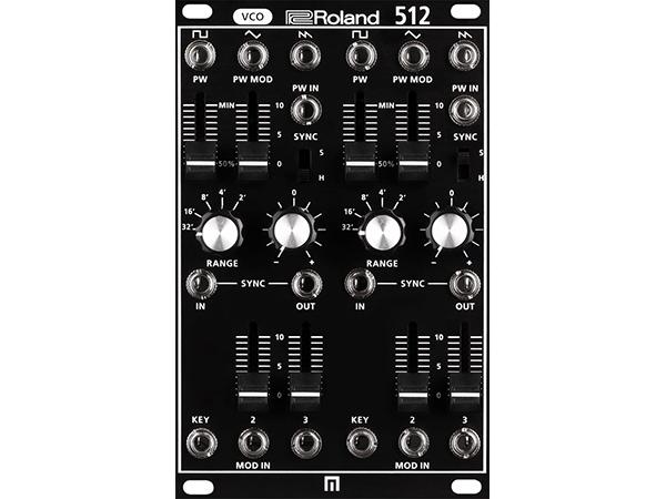 Roland ( ローランド ) SYS-512 ◆【モジュラーシンセ】 ◆【送料無料】【アナログ シンセサイザー】【ユーロラック】【DAW】【DTM】