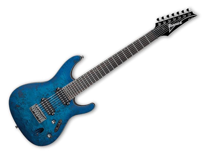 Ibanez ( アイバニーズ ) S7721PB (SBF) 【 Sシリーズ エレキギター 】