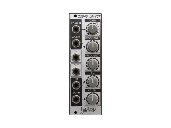 Tiptop Audio ( チップトップ オーディオ ) Z2040 4-Pole VCF ◆【モジュラーシンセ】 ◆【送料無料】【DTM】【DAW】