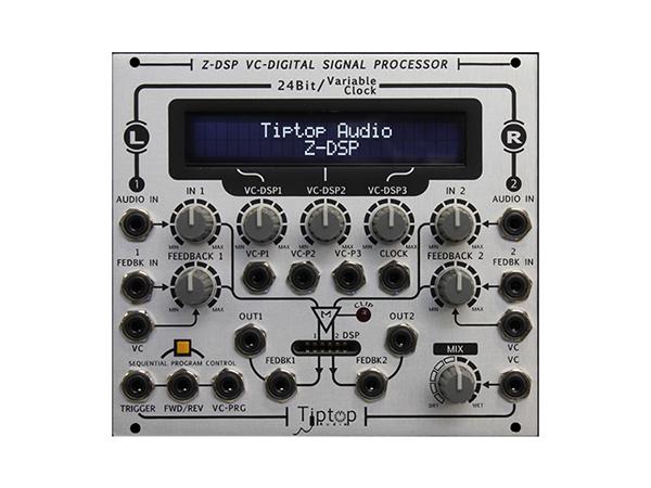 Tiptop Audio ( チップトップ オーディオ ) Z-DSP ◆【モジュラーシンセ】 ◆【送料無料】【DTM】【DAW】