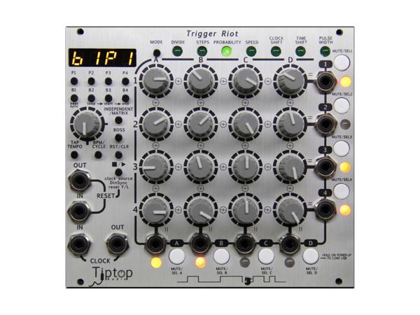 Tiptop Audio ( チップトップ オーディオ ) Trigger Riot ◆【モジュラーシンセ】 ◆【送料無料】【DTM】【DAW】