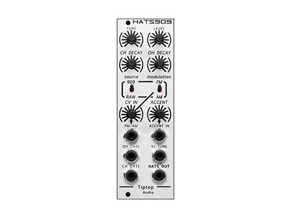 Tiptop Audio ( チップトップ オーディオ ) HATS909 Hi-Hats ◆【送料無料】 ◆【送料無料】【DTM】【DAW】