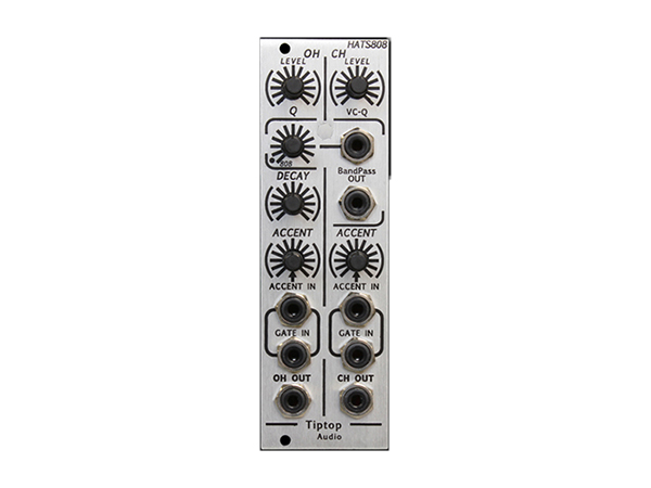 Tiptop Audio ( チップトップ オーディオ ) HATS808 Hi-Hats ◆【モジュラーシンセ】 ◆【送料無料】【DTM】【DAW】