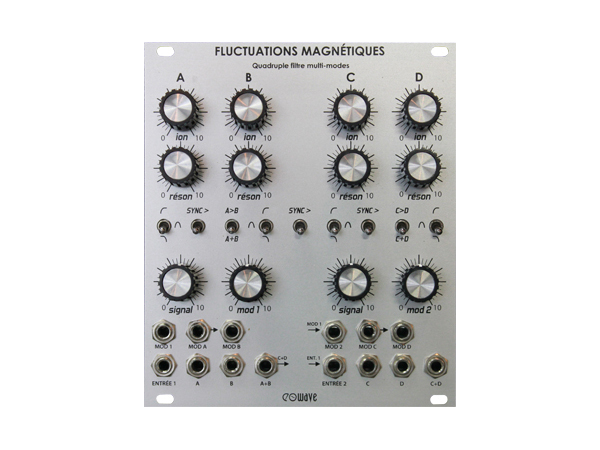 EO WAVE ( イオ・ウェーブ ) EO-113 Fluctuations Magnetiques ◆【モジュラーシンセ】【取り寄せ商品/受注後納期確認 】 ◆【送料無料】【アナログシンセサイザー】【DAW】【DTM】