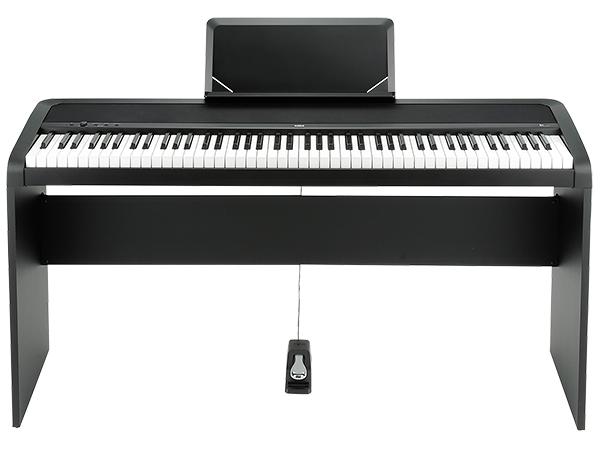KORG ( コルグ ) B1-BK 純正スタンドセット ◆ 【デジタルピアノ】 ◆【送料無料】【電子ピアノ】【88鍵盤】【ピアノタッチ】